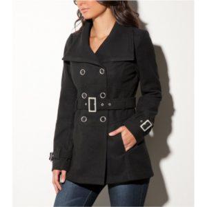 Dámský kabát G by Guess Sadie Faux-Wool Coat